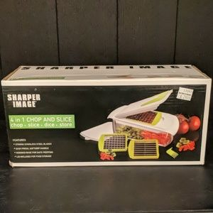 Sharper Image 4 in 1 Chop and Slice